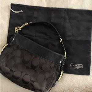 Coach signature Zoe Hobo handbag
